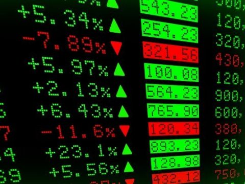 electronic list of stocks and chnages